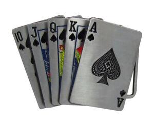 Boucle-de-ceinture-poker-quinte-flush-a-pic-etain