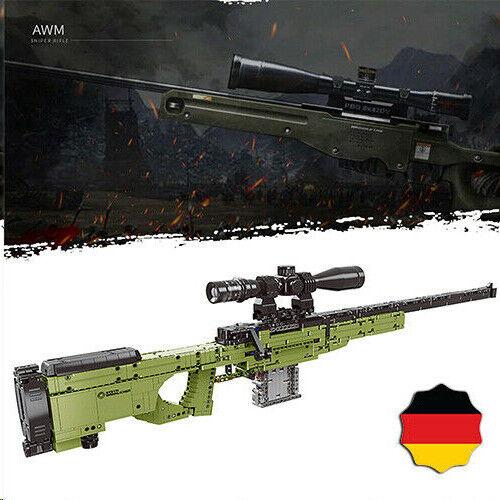 AWP AWM Go Militär Gewehr Waffe 42056 42083 Blöcke Bausteine technic MOC pistole