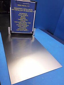 """16 Gauge 1//16/""""; .060/"""" 4 Pieces of 6/"""" x 7/"""" Aluminum Sheet Metal .063/"""" Thick"""