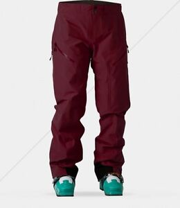2016-NWT-WOMENS-SWEET-PROTECTION-SALVATION-PANTS-M-ron-red-goretex-snowpant