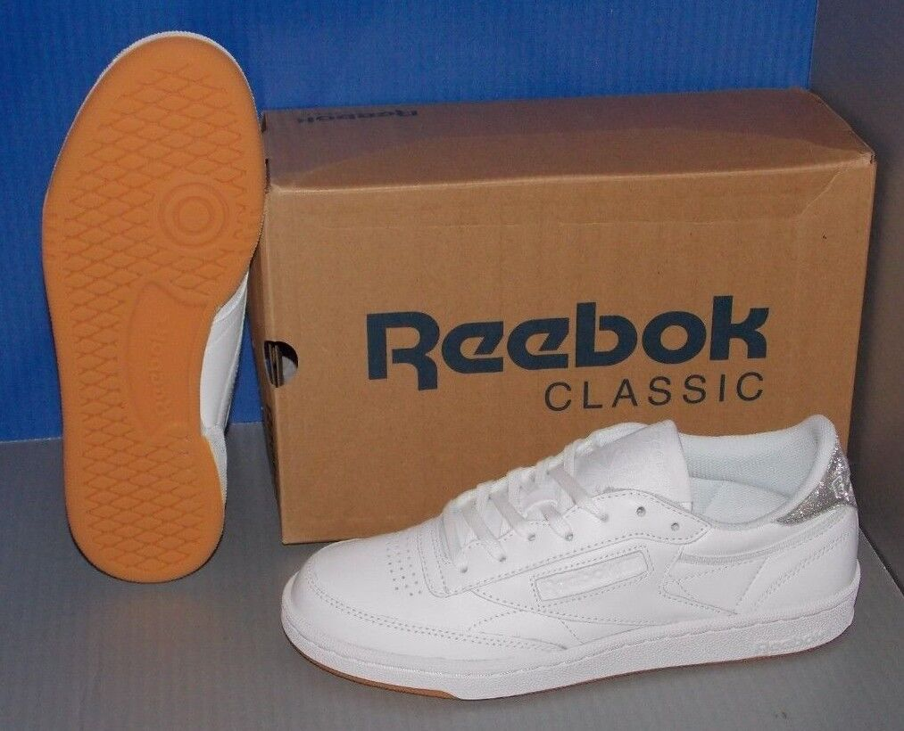 Damenschuhe REEBOK CLUB CLUB CLUB C 85 DIAMOND in colors Weiß / GUM SIZE 7.5 30f629