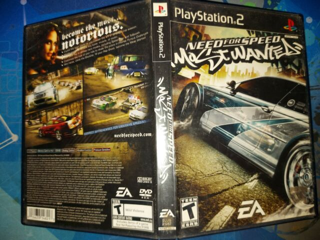 Need for Speed: Most Wanted (Sony PlayStation 2, 2005) Tested Working