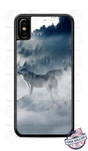 Snow-Wolves-Mystical-Animal-Phone-Case-Cover-Fits-iPhone-Samsung-LG-Moto-etc