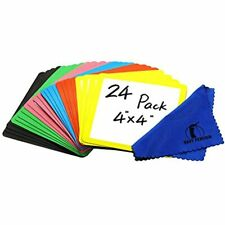Dry Erase Magnets Set 24 Pack 4x4ampquot Whiteboard Magnetic Planning Pads Small