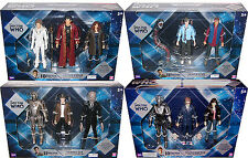 Doctor Who Lot Dozen+ Action Figures, River Song, 10th & 11th Drs, Cybermen