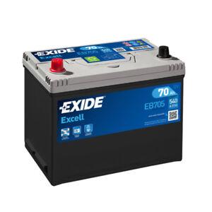 EXIDE-EB705-BATTERIA-AUTO-EXCELL-70AH-540EN-DI-SPUNTO-12V-EB705-POSITIVO-SX
