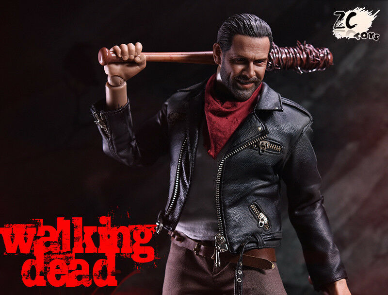Negan Figure ZCTOYS 1/6 the Walking Dead Full Set Collection Male Doll Gift Toy