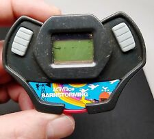 Activision Burger King Action Red Barnstorming 1982 Handheld Game Works!