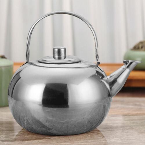 1//1.5//2//2.5L Infuser Tea Kettle Stainless Steel Teapot Fast Boil Heat Resistant