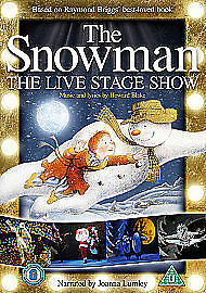 1 of 1 - the snowman - the live stage show NEW DVD (CDR81267)