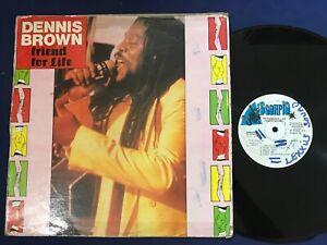 DENNIS BROWN – FRIEND FOR LIFE REGGAE LP