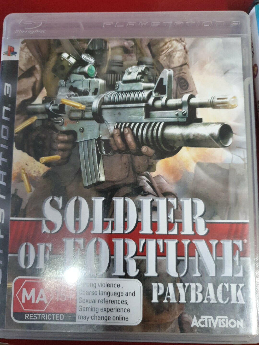 Soldier Of Fortune - Payback ps3