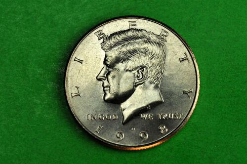 1998-D   BU  Mint State Kennedy US Half Dollar Coin