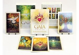 Details about GAIA Oracle Cards Deck Earth Divine Energy Tarot Affirmation  Healing Messages