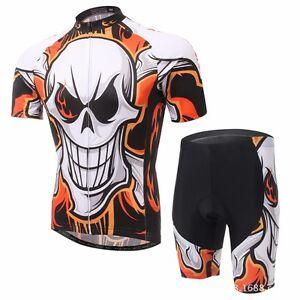 Men-039-s-Cycling-Jersey-amp-Shorts-Cycling-Set-Bike-Clothes-Team-Cycling-Short-Kit