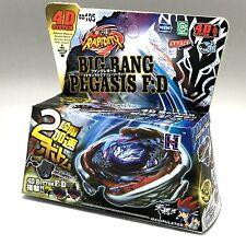 BIG BANG PEGASUS BEYBLADE 4D TOP METAL FUSION FIGHT MASTER NEW + LAUNCHER USA