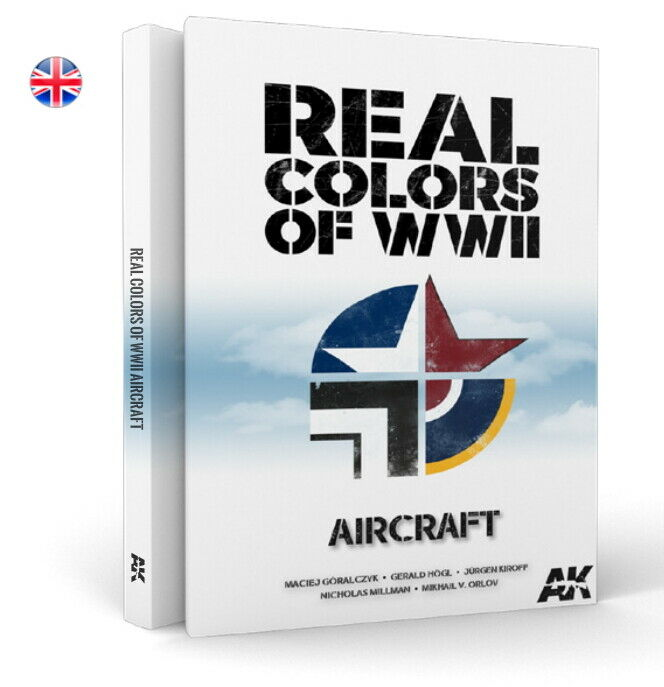 AK-Interactive REAL Colours of WWII Aircraft (English)