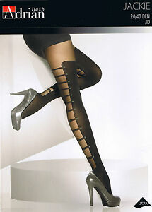 MOCK-SUSPENDER-STOCKINGS-TIGHTS-ADRIAN-034-JACKIE-034-40-20-DENIER