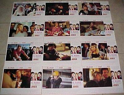 Renee Zellweger Bridget Jones Diary lobby card set 12 Colin Firth Hugh Grant
