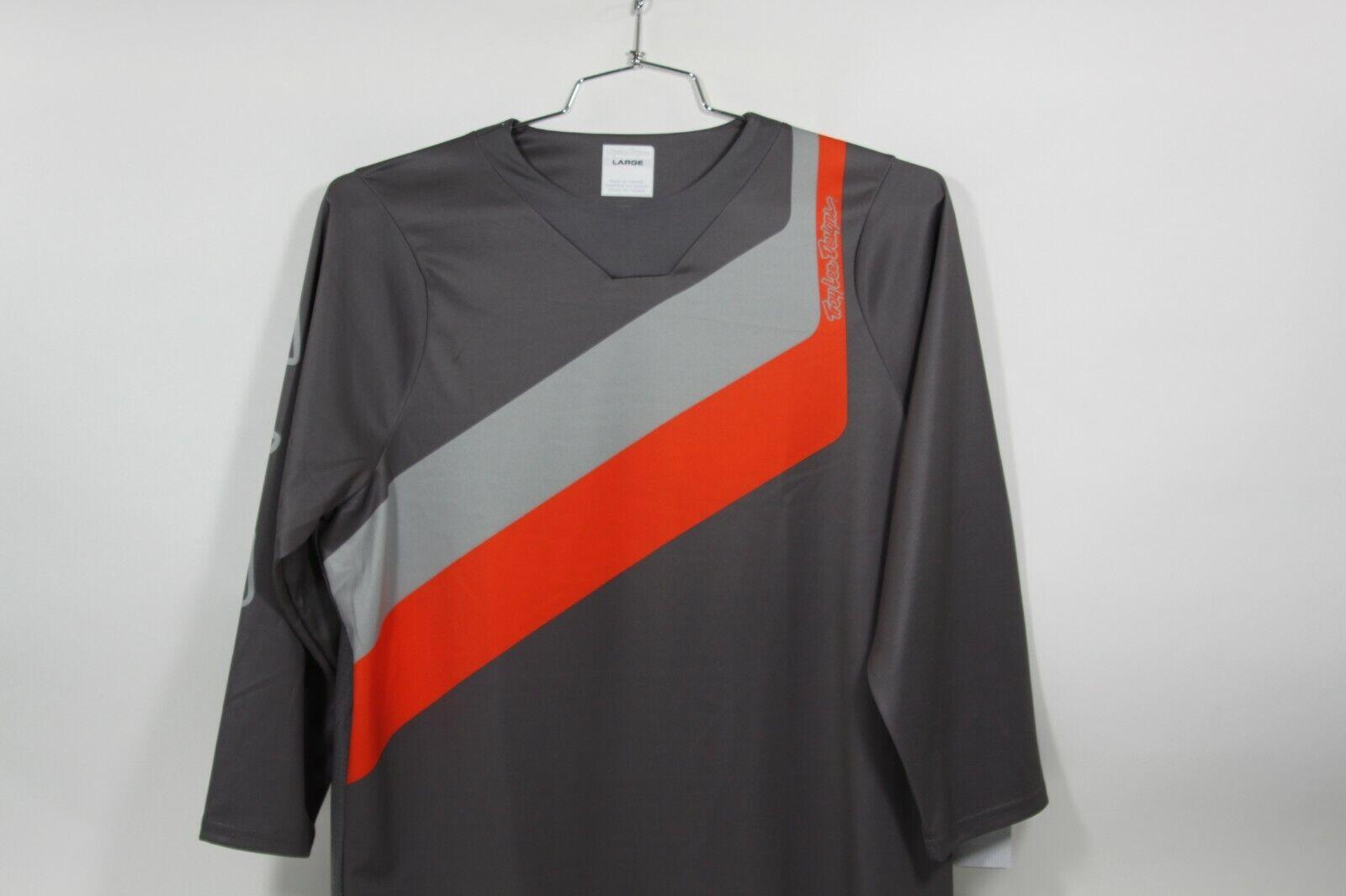 2019 Troy Lee Designs Ruckus 34 sleeve jersey Diuominiione gree rossogrigio