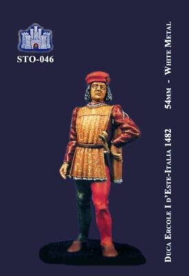 Ss La Fortezza 54 Mm - Duca Ercole I D'este - Ferrara, 1482 (sto-046) Delicious In Taste