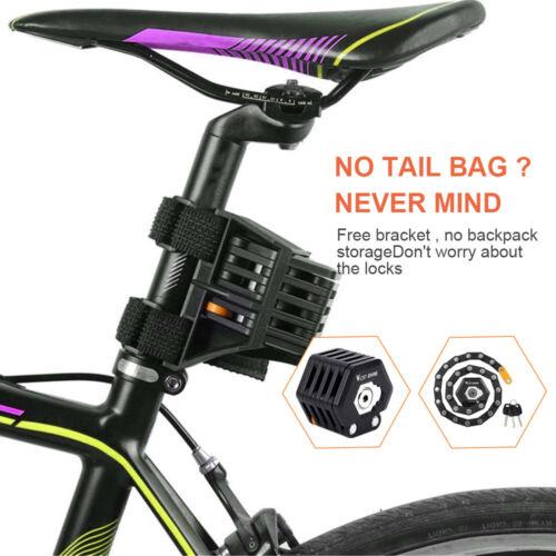 West Biking Foldable Bike Lock With 3 Keys Hamburg-Lock Alloy Anti-Theft UK