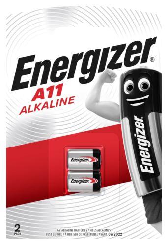 20 x Energizer A11 MN11 11A LR1016 L1016 Alkaline Batterie 6V 10 x 2er Blister