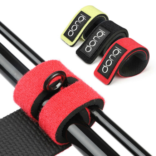 2pcs Fishing Rod Tie Strap Belt Tackle Elastic Wrap Band Pole Holder Accessories