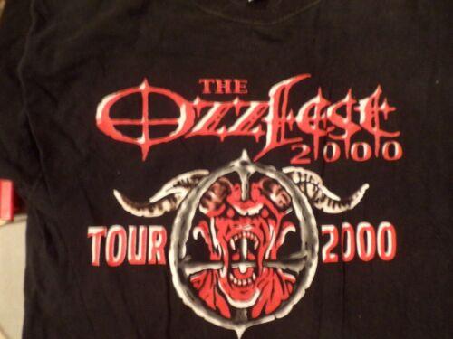 Vintage OzzFest Ozz Fest T Shirt size oi hardcore