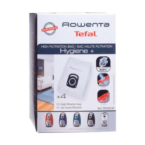 RO 4 Staubsaugerbeutel Original Rowenta ZR200520 für Rowenta RO3950EA RO3953EA