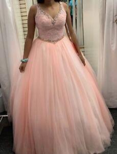 quinceanera dress pink