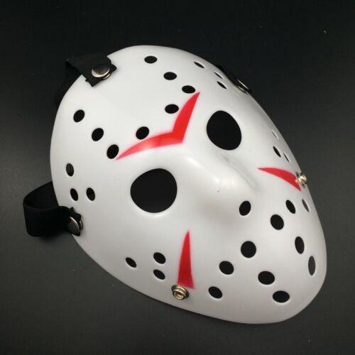 Friday13th MSK004 Jason Scary Halloween Creepy Mask Prop Hockey Voorhees #ED6
