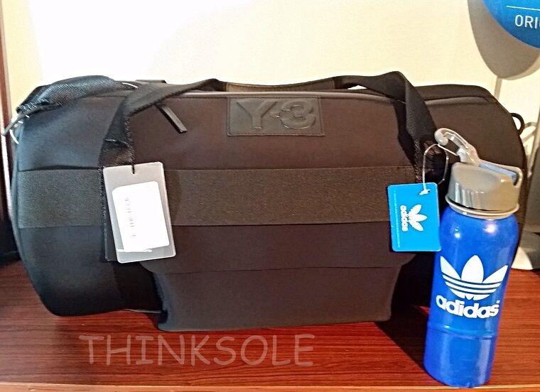 Negro//Gris Unisex Adulto Talla /Única adidas 3S per Shoebag Bolso