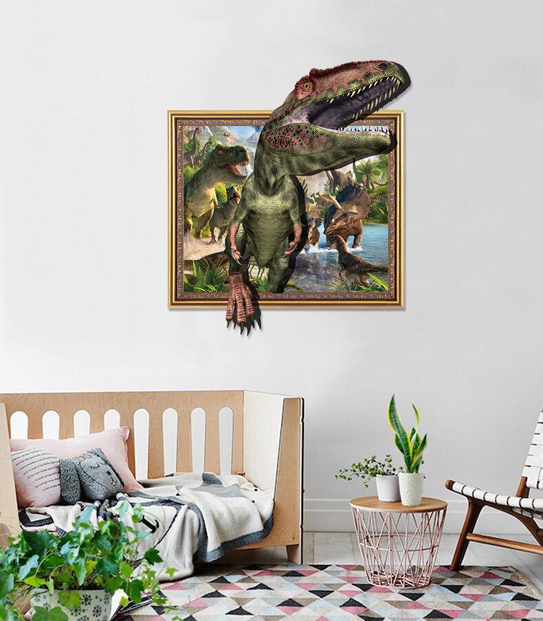 3D grne Dinosaurier 53 Fototapeten Wandbild BildTapete Familie AJSTORE DE Lemon