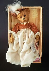 Theodore-Roosevelt-Ceramic-Bear-100th-Anniversary-Limited-Edition-NIB-10-034