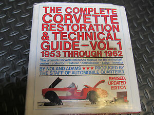1962 corvette restoration guide