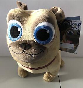 New Disney Parks Puppy Dog Pals Rolly Plush Pug 9 H Disney Junior