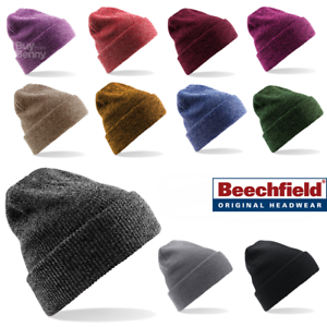 e30d4a1c7 Details about Beechfield BEANIE HAT WINTER WARM SOFT KNITTED VINTAGE STYLE  SPORTS MEN'S LADIES