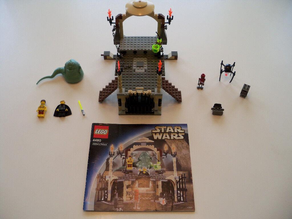 Lego Star Wars - Selten Jabba's Palast 4480 - 100