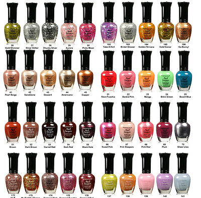 "Lot of 15 kleancolor nail polish  - ""PICK ANY 15 COLORS"""