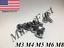 7985 M3 M4 M5 M6 M8 Stainless Steel Phillips Pan Head Metric Screw 18-8  A2 DIN