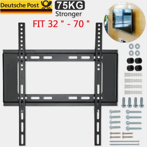 TV Wandhalterung LCD LED Fernseher 32 40 43 50 55 65 70 Zoll Samsung Sony LG