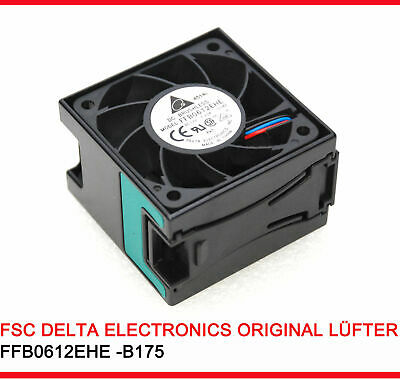 Sehr Starker 60mm 60 Mm Cooler Fan For Casing Delta Ffb0612ehe With 8000 Rpm #a4