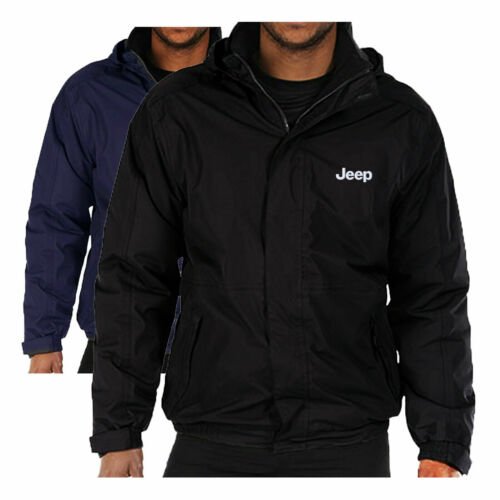 JEEP  FLEECE LINED WATERPROOF JACKET REGATTA WITH EMBROIDERED LOGO FREE POST