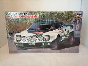 Hasegawa 1/24 Scale Model Kit – Item 25033 / CR-33 - Lancia Stratos HF Rally (Al