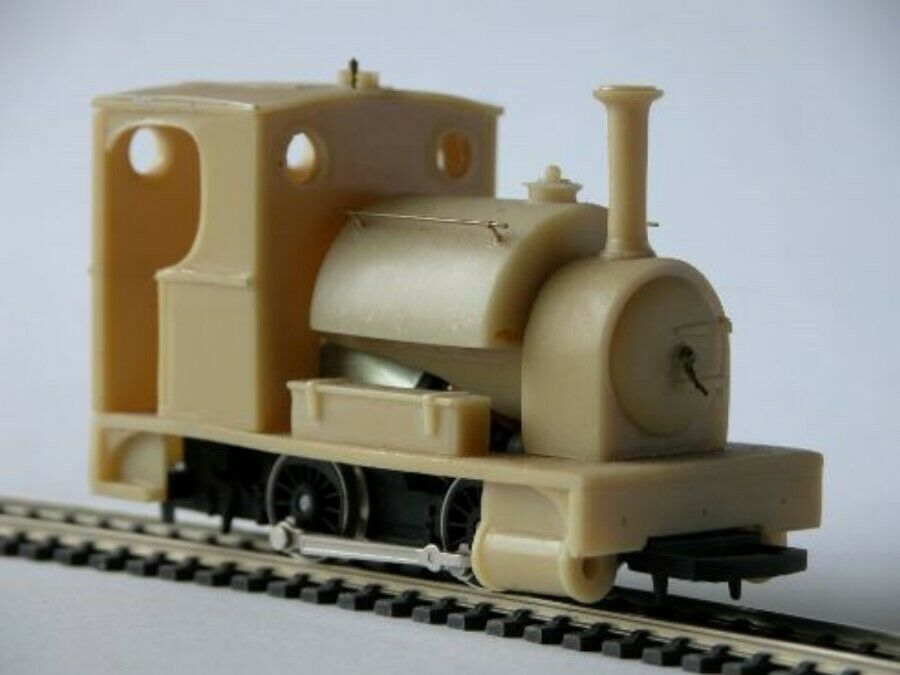 7mm NG 'CLIO' Saddle tank locomotive body kit - Smallbrook Studio