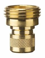 Nelson 50335 Brass Hose Quick Connectors, Male, 2-pack , New, Free Shipping