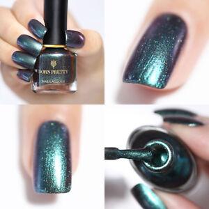 a51ab5b0e68 6ml BORN PRETTY Shell Nail Polish Chameleon Nails Mermaid Green ...