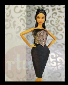 2012-Randall-Craig-RTW-034-A-Little-Drama-034-Mini-Dress-for-12-inch-Fashion-Dolls