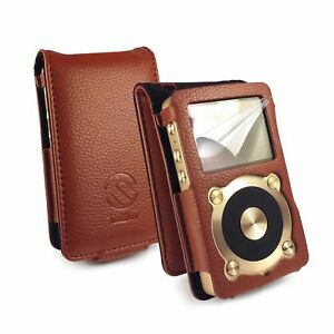 TUFF-LUV-Faux-Leather-Case-Cover-for-Fiio-X1-Brown